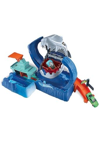 Hot Wheels Autorennbahn »City Robo-Hai-Angriff«, inkl. 1 Spielzeugauto mit Farbwechsel kaufen