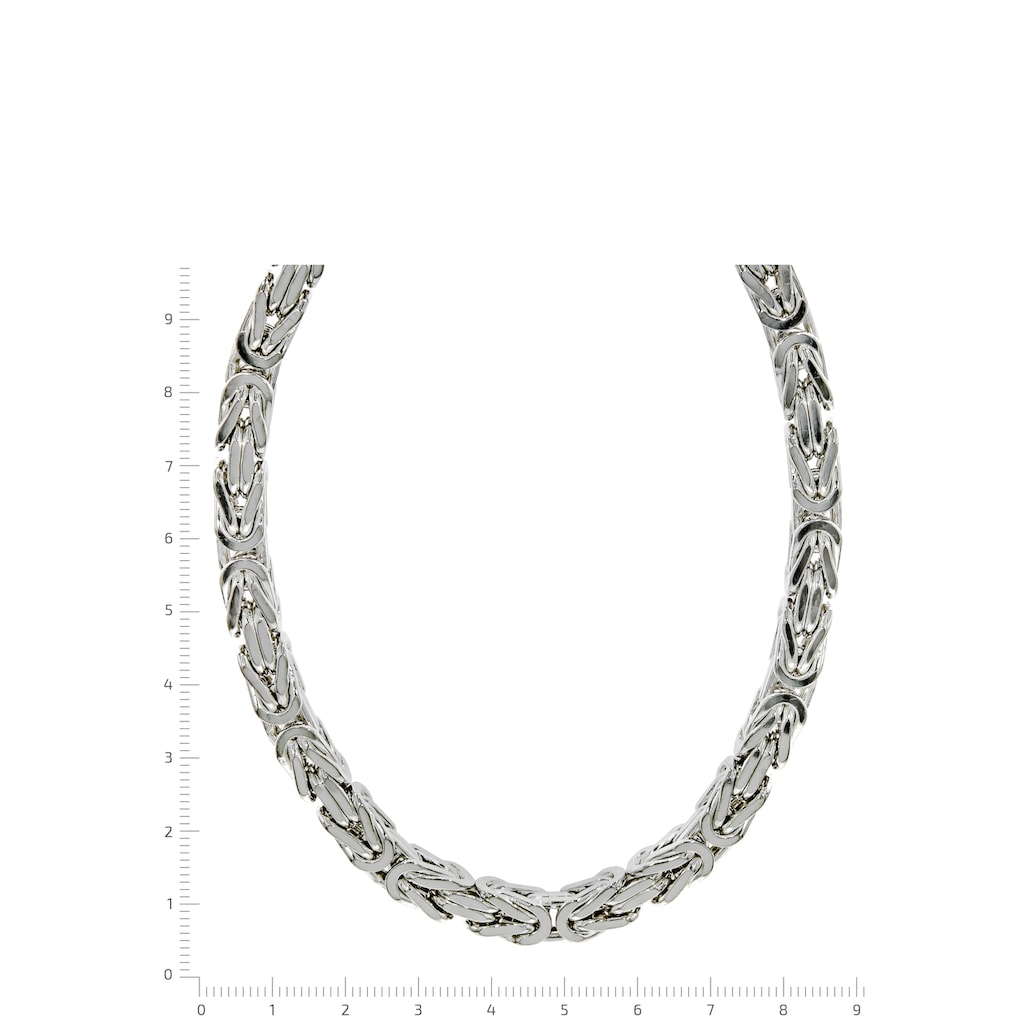 Firetti Königskette »Königskettengliederung 4-kant, 7,0 mm breit«, Made in Germany