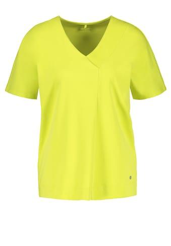 GERRY WEBER T - Shirt 1/2 Arm »Locker geschnittenes Shirt organic cotton« kaufen