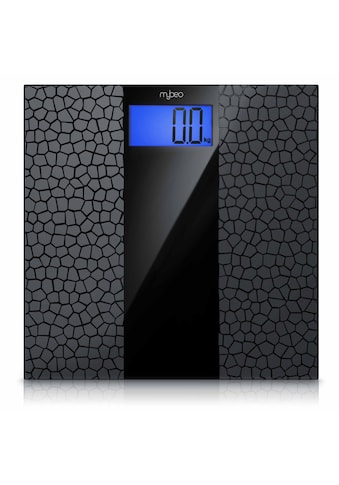 "MyBeo Digitale Körperwaage im Glas Design »3.5"" Display / Anti - Rutsch - Oberfläche / max 180 kg« kaufen"