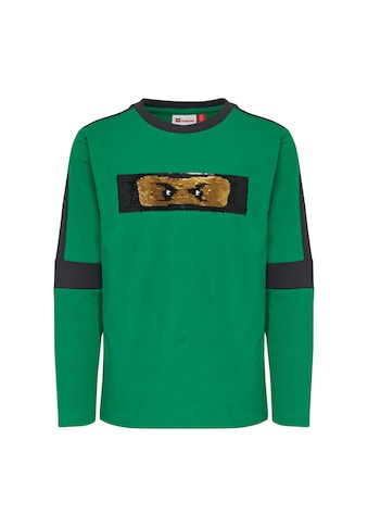 """LEGO® Wear Langarmshirt »LWTOBIAS 104«, """"mit Wendepailletten mit Ninjagoschriftzug"""" kaufen"""