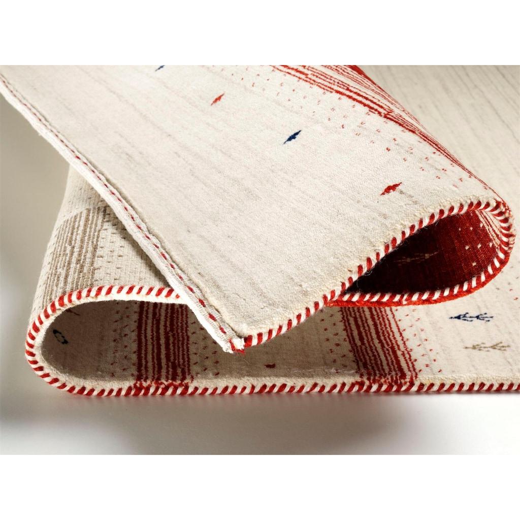 OCI DIE TEPPICHMARKE Wollteppich »Loriba Avalon«, rechteckig, 14 mm Höhe, reine Wolle, handgeknüpft, Wohnzimmer