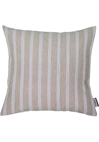 TOM TAILOR Kissenhülle »Linen Stripes« kaufen