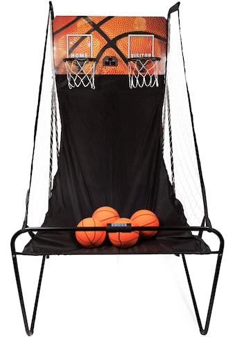 SportPlus Basketballkorb »SP-BS-100«, (inkl. 4 kleiner Basketbälle & Mini-Luftpumpe, exkl. Batterien) kaufen