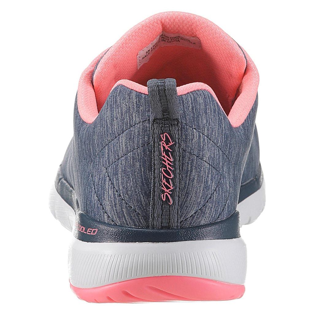 Skechers Sneaker »Flex Appeal 3.0«, mit Bio-Dri-Ausstattung