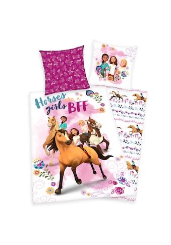 DREAMWORKS Spirit RIDING FREE Kinderbettwäsche »Spirit, Baumwoll-Renforcé« kaufen