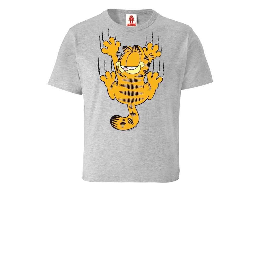 LOGOSHIRT T-Shirt »Garfield«, mit witzigem Print