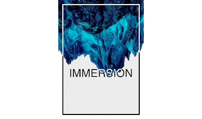 KOMAR XXL Poster »Immersion Blue« kaufen
