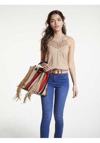 Shirttop mit Häkelspitze kaufen