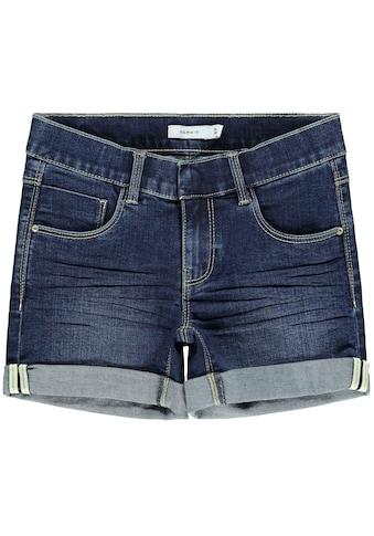 Name It Jeansshorts »NKFSALLI«, mit kleinem Saumaufschlag kaufen