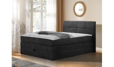 DELAVITA Boxspringbett »Finja«, (4 tlg.), besonders komfortable Liegehöhe, mit praktischem Bettkasten kaufen