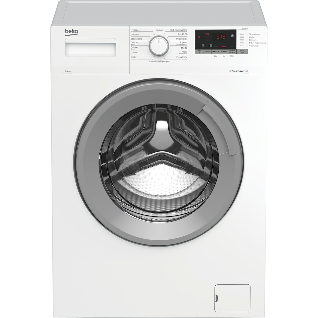 BEKO Waschmaschine »WMO8221«, WMO8221