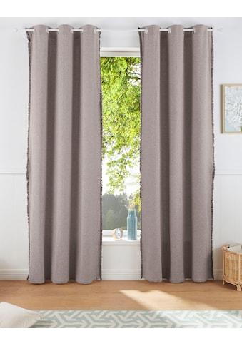 Vorhang, »LENI«, LeGer Home by Lena Gercke, Ösen 1 Stück kaufen