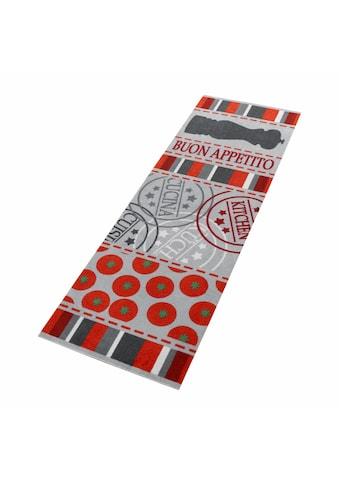 Küchenläufer, »Buon Appetito«, Zala Living, rechteckig, Höhe 5 mm, maschinell gewebt kaufen