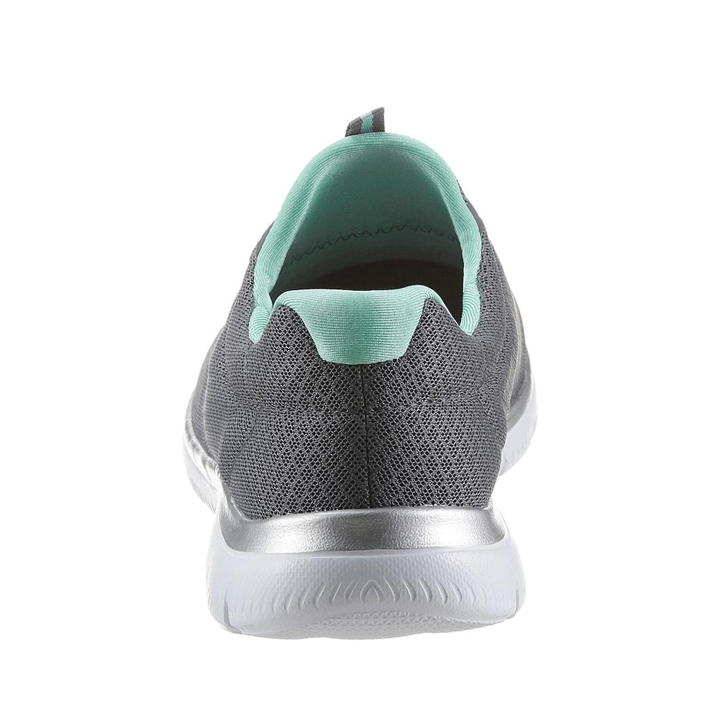 Skechers Slip-On Sneaker »SUMMITS«, mit dezenten Kontrast-Details