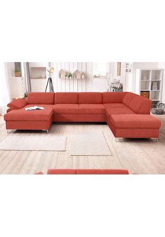 DOMO collection Wohnlandschaft »Santana«, wahlweise mit Bettfunktion kaufen