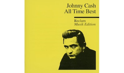 Musik - CD ALL TIME BEST - THE MAN IN BLACK - RECLAM MUSIK E / Cash,Johnny, (1 CD) kaufen