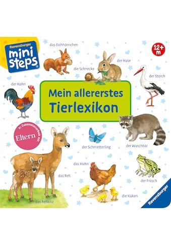 Buch »Mein allererstes Tierlexikon / Ana Weller« kaufen