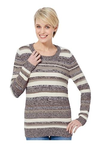 Casual Looks Pullover mit tollen Streifen kaufen