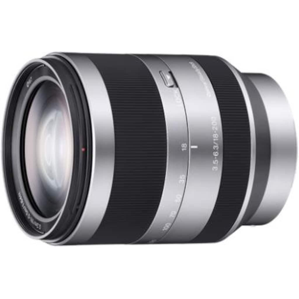 Sony Teleobjektiv »SEL18200.AE«