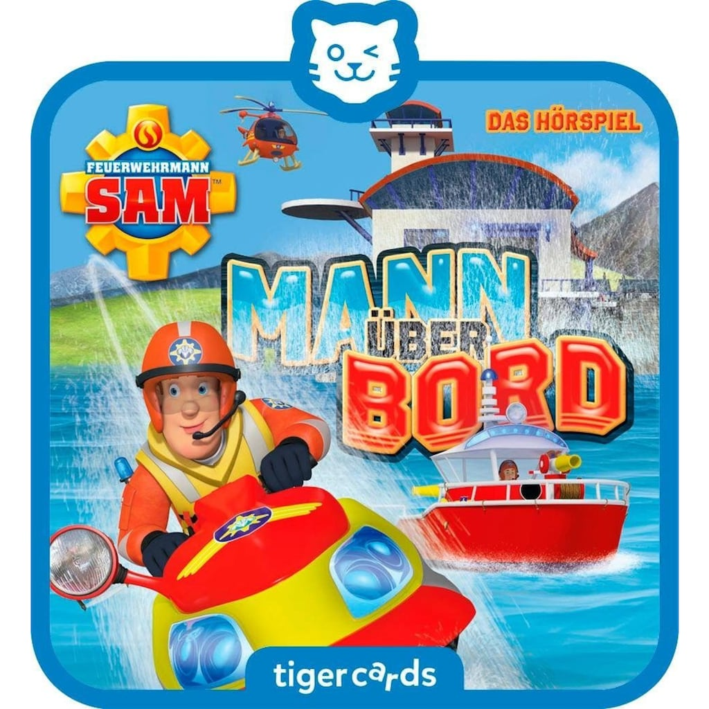 tigerbox Hörspiel »Mann über Bord«