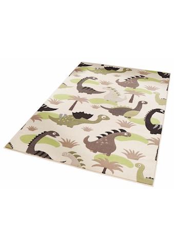 Kinderteppich, »Dinosaurier«, Zala Living, rechteckig, Höhe 9 mm, maschinell gewebt kaufen
