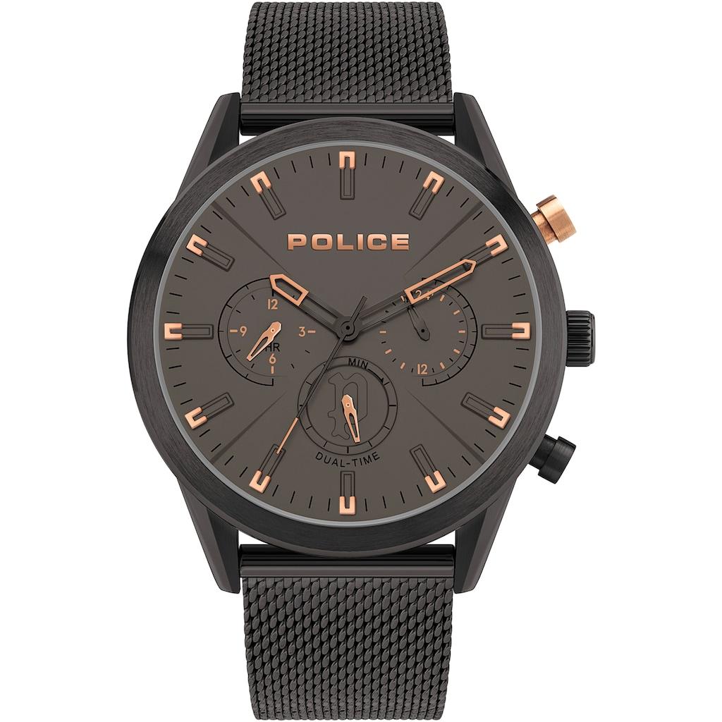 Police Multifunktionsuhr »SILFRA, PL16021JSB.79MM«