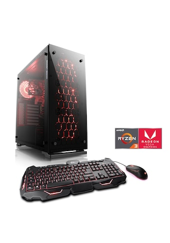 CSL Multimedia PC | AMD Ryzen 3 2200G | Vega 8 | 16 GB DDR4 | SSD »Sprint T8163 Windows 10 Home« kaufen