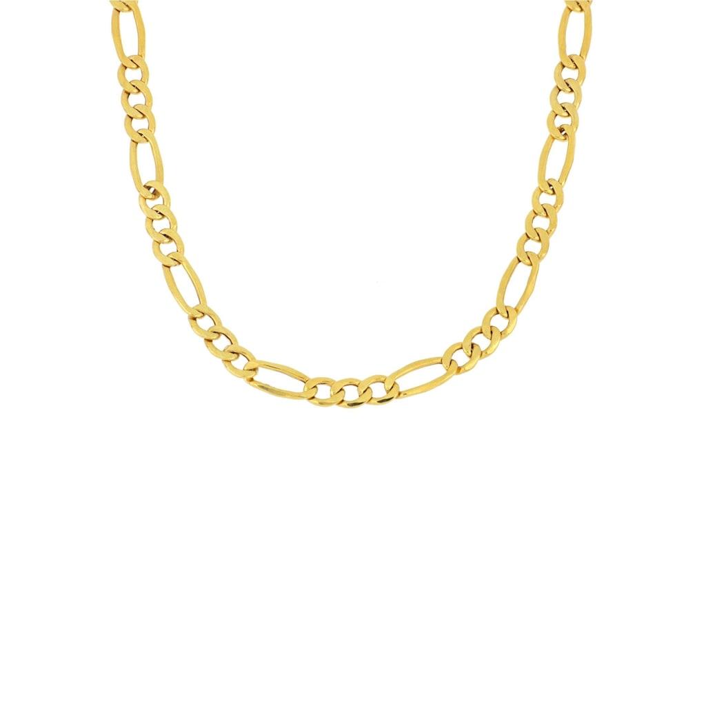 Firetti Goldkette »Figarokettengliederung 3:1, 2,6 mm breit, glanz«