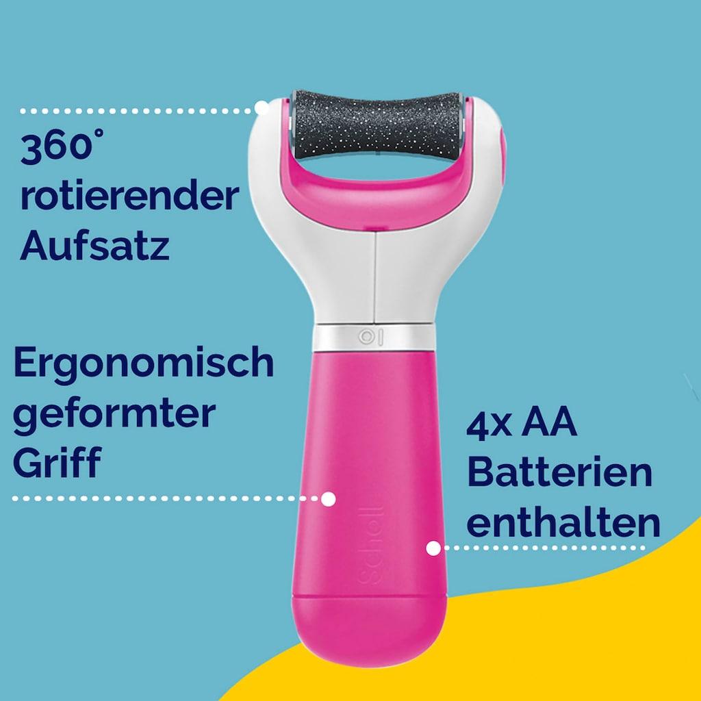 Scholl Elektrischer Hornhautentferner »ExpertCare«, Pink