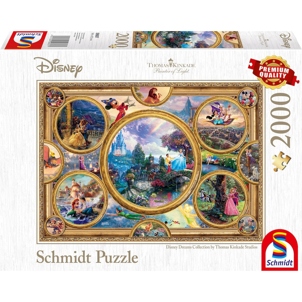 Schmidt Spiele Puzzle »Disney, Collage«, Made in Germany