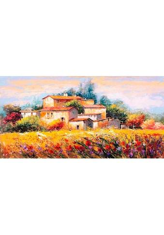 Home affaire Deco-Panel »LUIGI FLORIO / Campo d'estate«, 100/50 cm kaufen