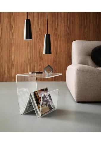 Places of Style Zeitungsständer »Remus«, mit Ablage aus Acrylglas kaufen