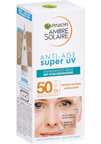 GARNIER Sonnenschutzcreme »Super UV Anti-Age« kaufen