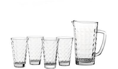 "LEONARDO Gläser - Set ""Optic"" (5 - tlg.) kaufen"