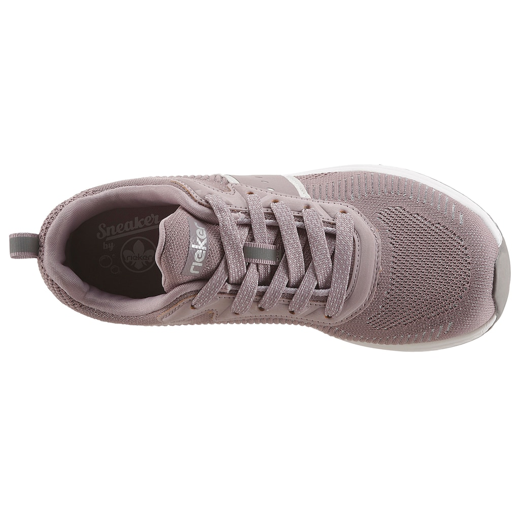 Rieker Sneaker, in Strick-Optik