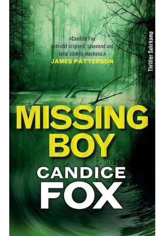 Buch »Missing Boy / Candice Fox, Thomas Wörtche, Andrea O'Brien« kaufen