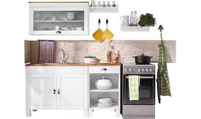 Home affaire Küchen - Set »Oslo«, (5 - tlg), ohne E - Geräte, aus massiver Kiefer kaufen