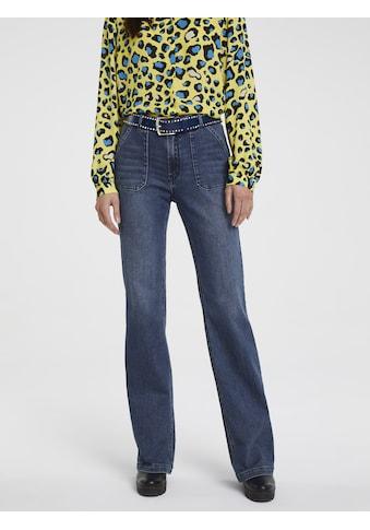 RICK CARDONA by Heine Bootcut-Jeans, mit leichtem Bootcut kaufen