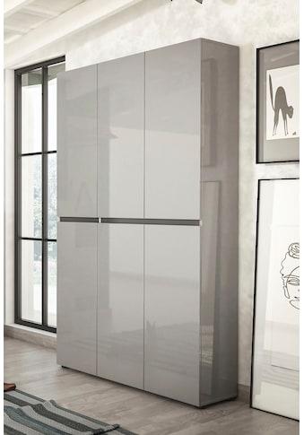 KITALY Schuhschrank »Mister«, Breite 120 cm, Höhe 200 cm, 6 Türen kaufen