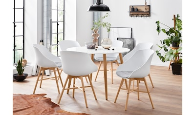 INOSIGN Essgruppe, mit 4 Stühle kaufen