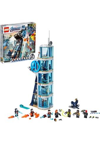 LEGO® Konstruktionsspielsteine »Avengers – Kräftemessen am Turm (76166), LEGO® Marvel... kaufen