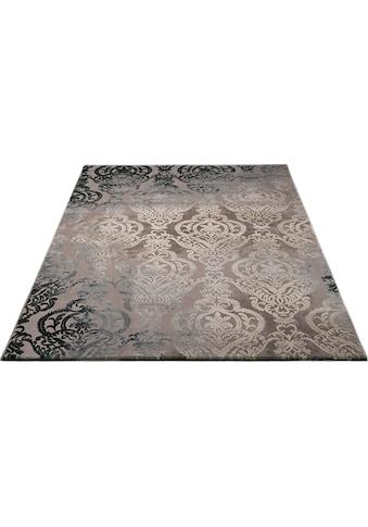 merinos Teppich »Bahar«, rechteckig, 12 mm Höhe, Vintage Design, Hoch-Tief-Struktur, Wohnzimmer kaufen