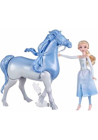 Hasbro Anziehpuppe »Die Eiskönigin 2 - Wasserzauber und Landspaß Elsa & Nokk«, Pferd... kaufen