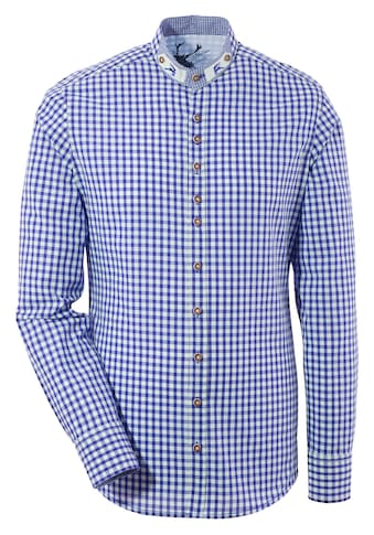OS-Trachten Trachtenhemd, mit Stehkragen kaufen