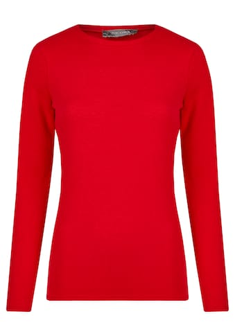 Nicowa Pullover in unifarbenem Design - BASINA kaufen