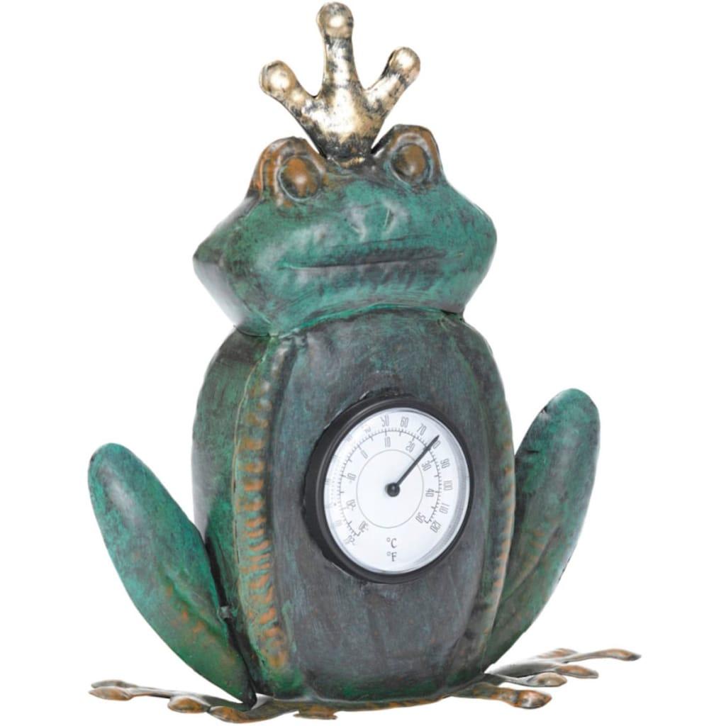 Schneider Gartenfigur »Frosch«, (1 St.), Thermometer