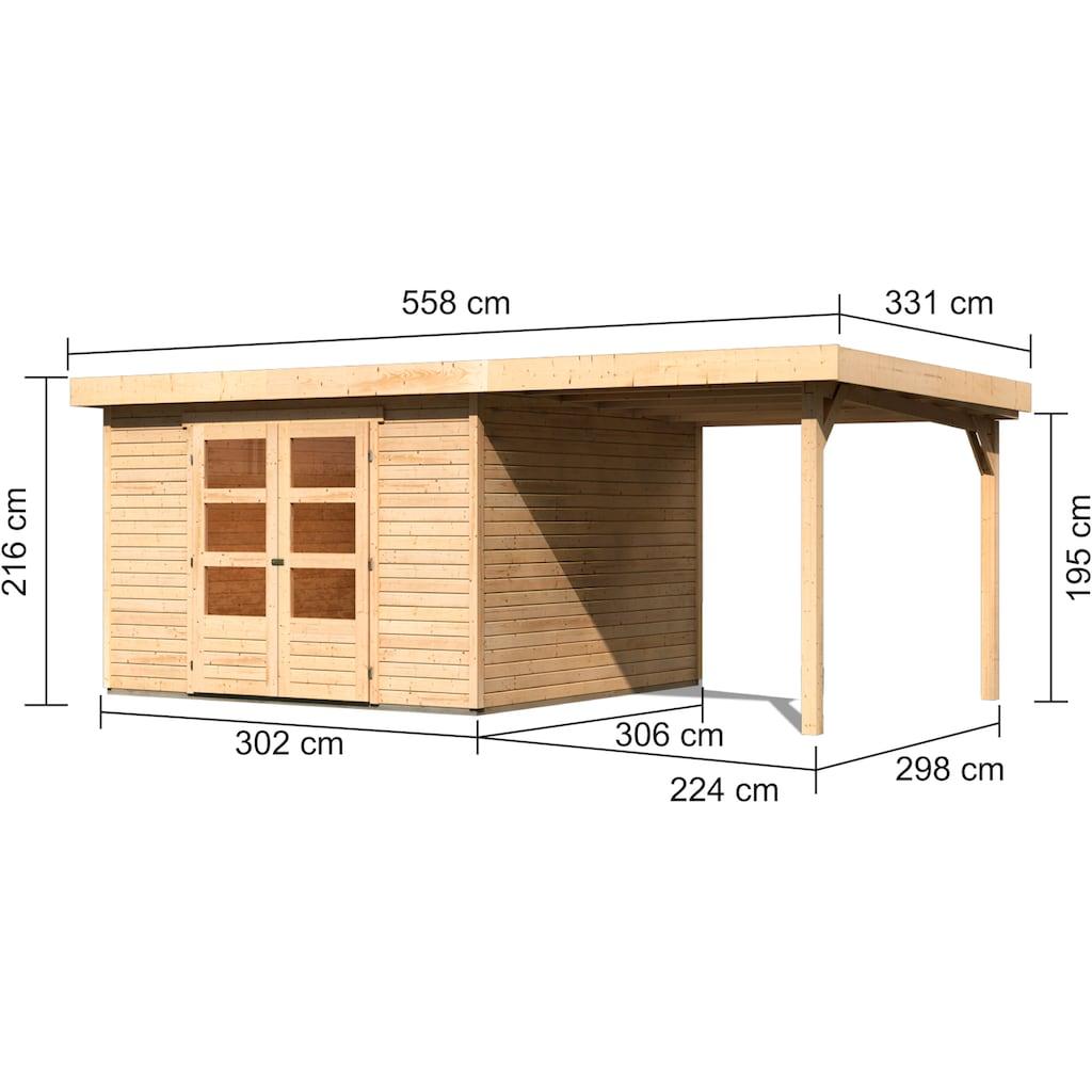 Karibu Gartenhaus »Arnis 6«