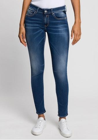 Replay Skinny-fit-Jeans »New Luz«, aus hochelastischem Denimstoff kaufen