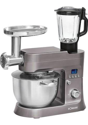 BOMANN Küchenmaschine »KM 1395 CB«, 1200 W, 6,2 l Schüssel kaufen